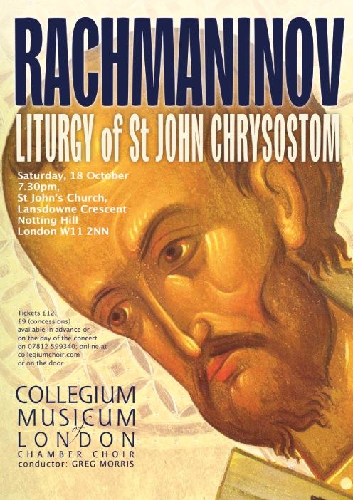 Audience acclaim for CML's Rachmaninov masterpiece