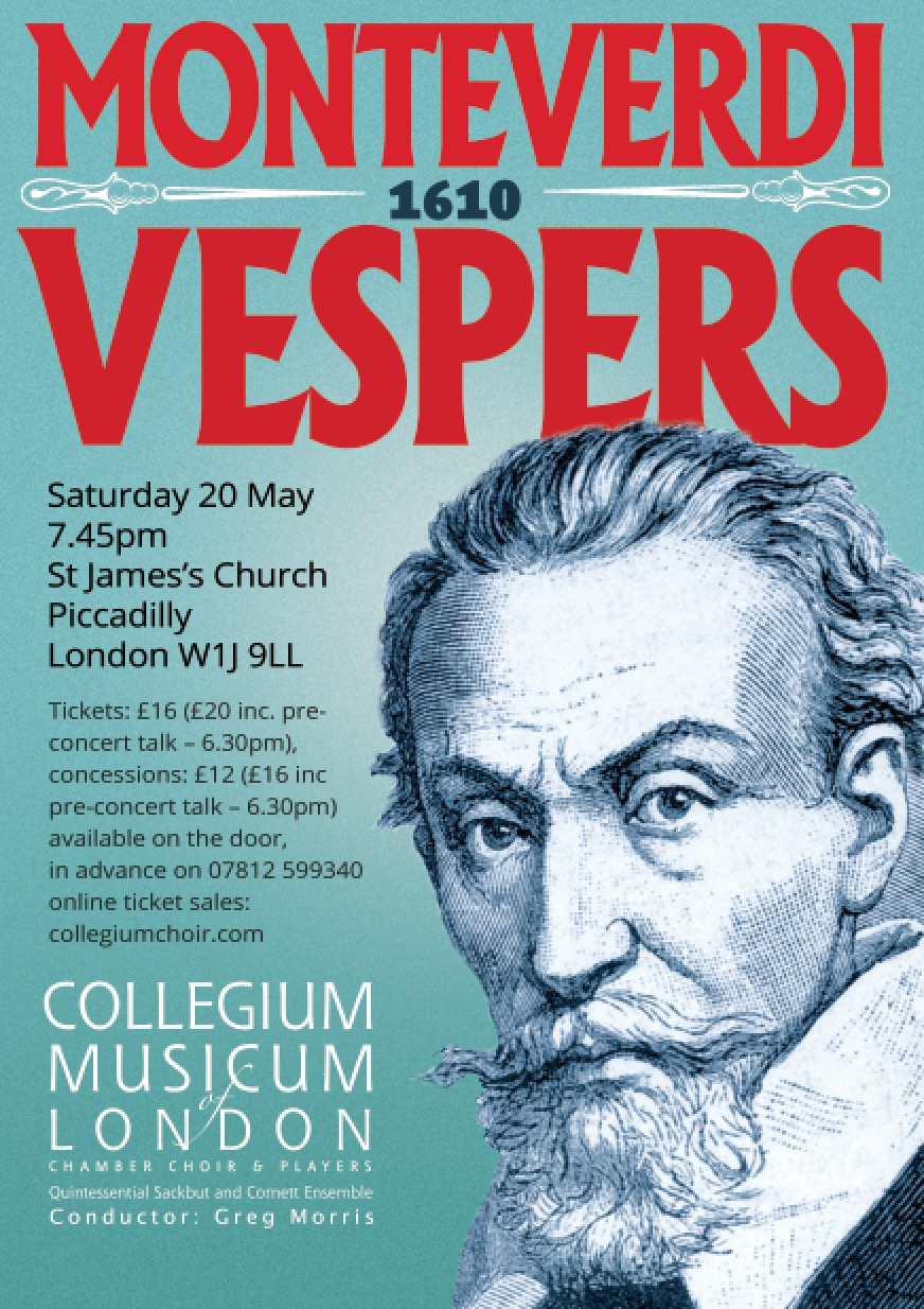 CML Chamber Choir celebrates Monteverdi with triumphant Vespers