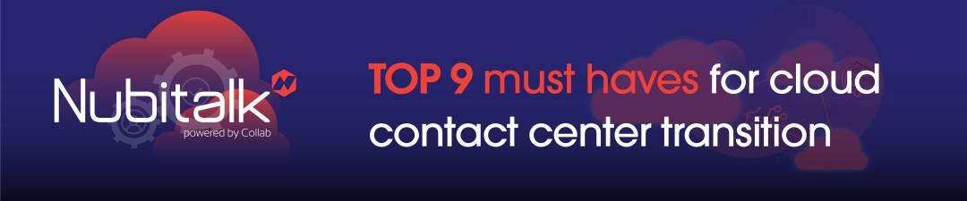 transição do contact center na nuvem
