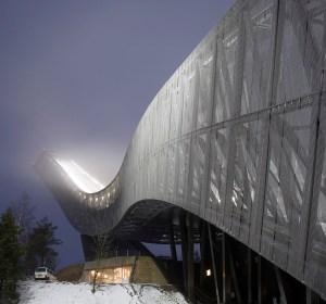 Holmenkollen Ski Jump: JDS Architects | CollabCubed