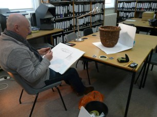 Graham sketching collections baskets in our library.