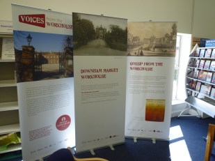 Heritage groups from Wickleood, Aylsham and Downham Market created temporary exhibitions about their local workhouses.
