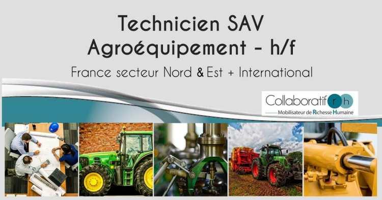 Technicien SAV Agroéquipement h/f
