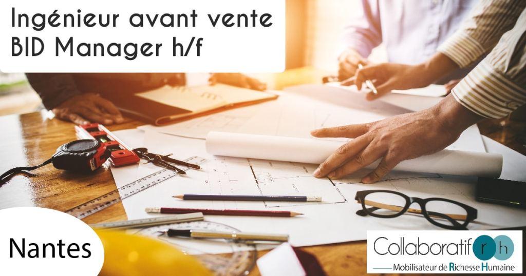 ingénieur avant vente Nantes
