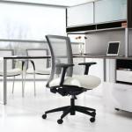 Vion Mesh Transitional Chair Series Clean Transitional Design