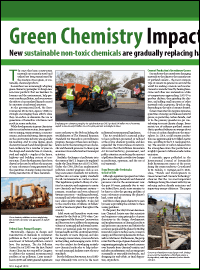 Green Chemistry Impacts Construction Industry