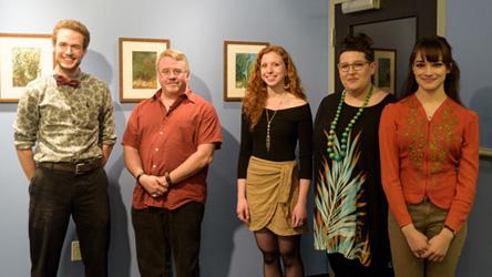 UMass Art Show at Warner Babcock