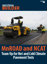 Western Builder magazine February 2017 edition features the MnROAD and NCAT