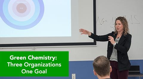 Green Chemisstry: Three Organizations, One Goal