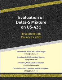 Evaluation of Delta-S Mixture on US-431 Updated 1/23/2020
