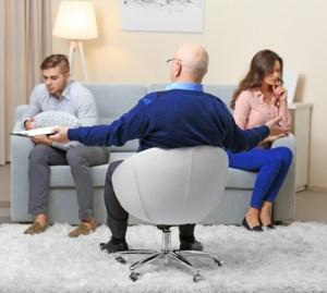 Collaborative divorce meeting