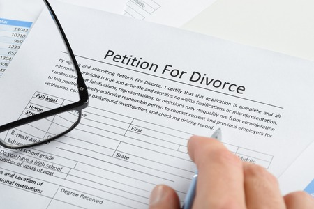 Service of divorce papers