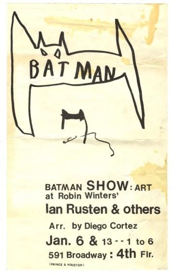 Ian Rusten, Diego Cortez, Batman Show, 1977
