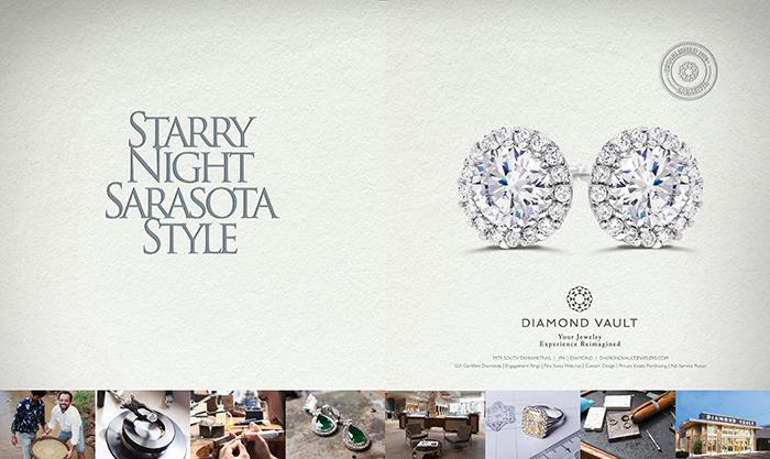 Diamond Vault / Starry Night print ad