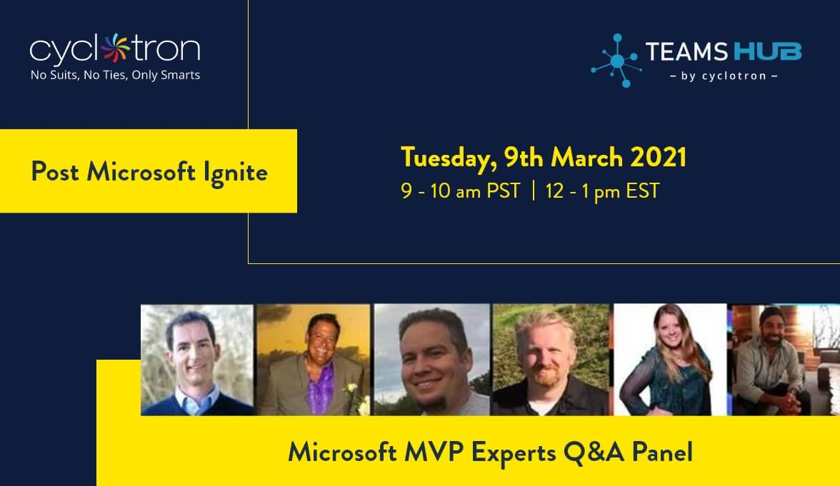 5 Favorite Announcements from Ignite & Best of Ignite Experts MVP Panel