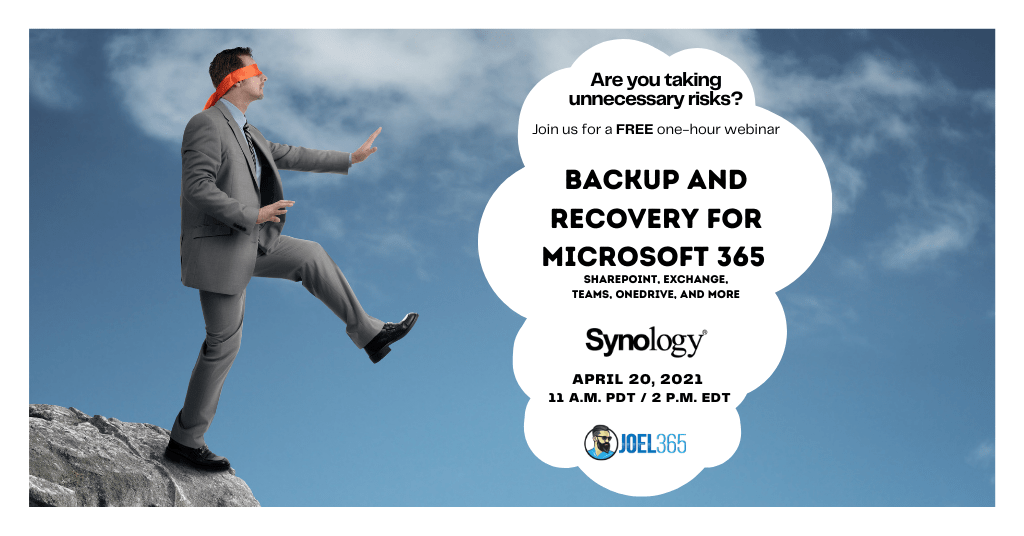 Do you Have Regular Backups for Your Microsoft 365 Content & Data