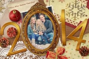 Collage online Feliz Año Nuevo.