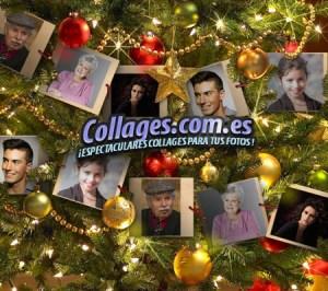 Collages Navidad para varias fotos.