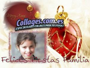 Montajes Collage de Navidad.