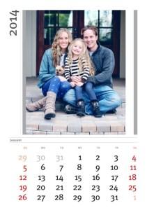 Calendarios personalizados 2014.