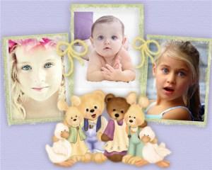 Marcos Collage Infantiles Gratis.