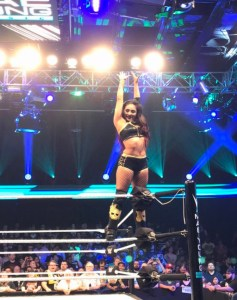 Miranda at the Mae Young Classic