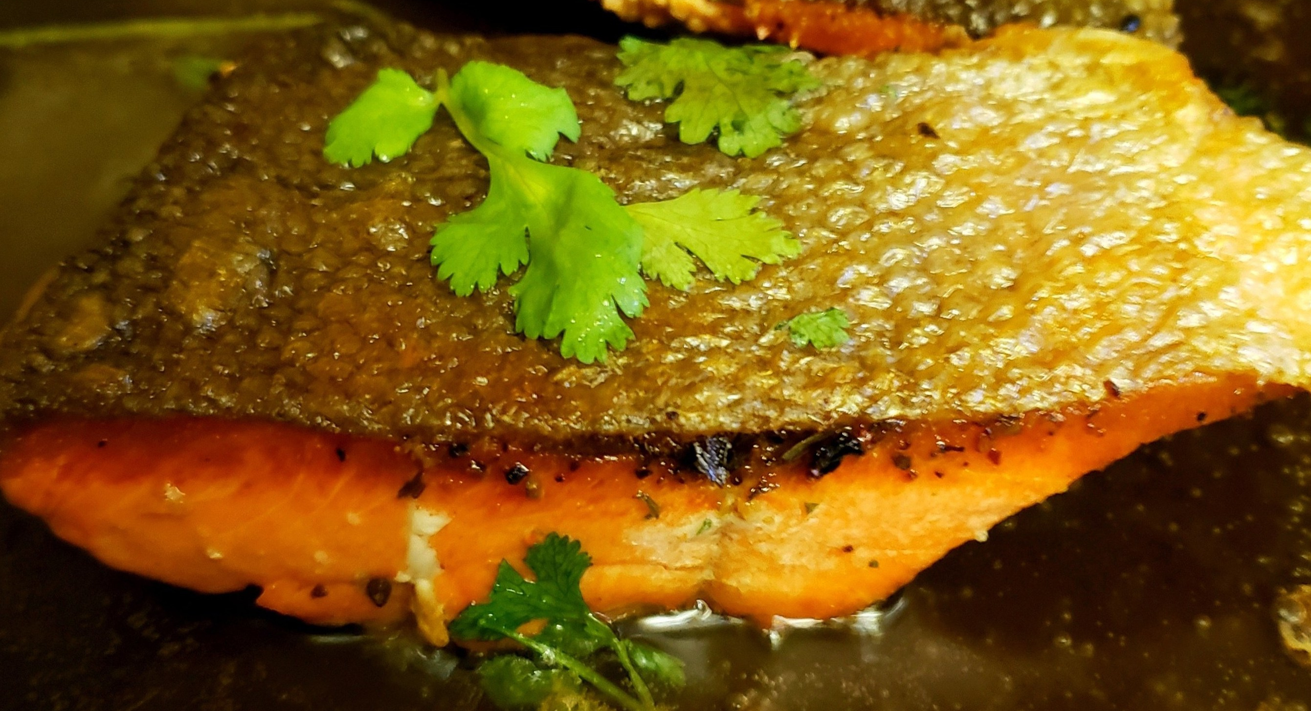 Simple Pan Seared Salmon