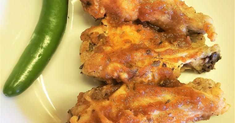 Jalapeno Apple Butter Wings