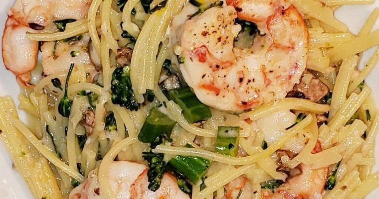 Wild Shrimp & Improper Pasta