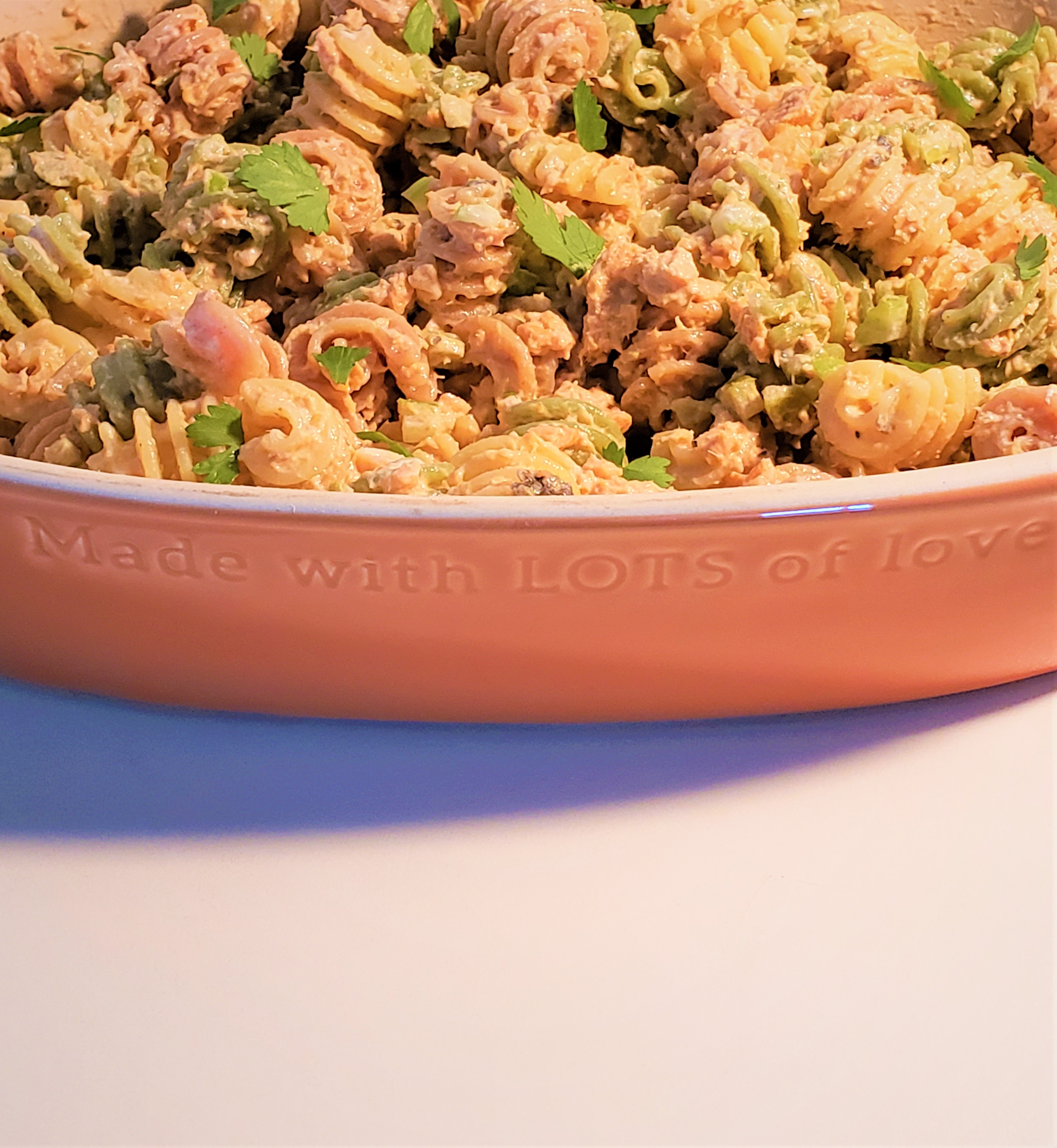 Summer Salmon Pasta Salad