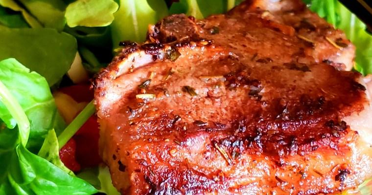 Lamb Chop Herb Salad