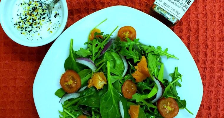 Everything Bagel & Lox Salad