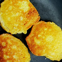 Pan Fried Cornbread is a gluten-free treat that is incredible with soups, beans and stews.