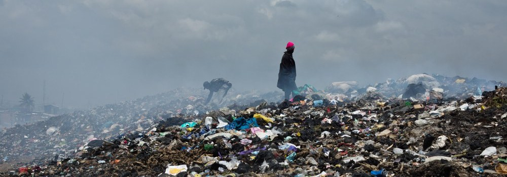 La ragazza nei rifiuti di Agbogbloshie