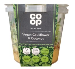 Cauliflower and Coconut Pot