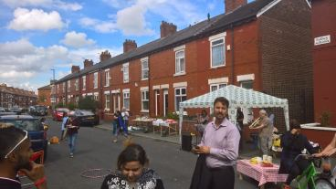 street party featuring Afzal Khan MP