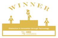 HRD Award logo for Distinction in innovation
