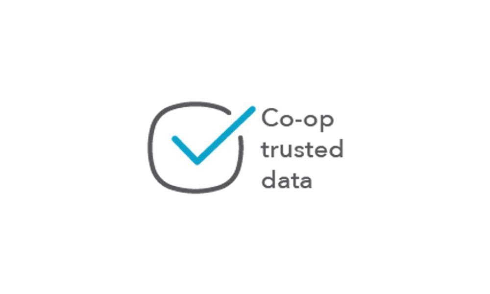Graphic saying: Co-op trusted data