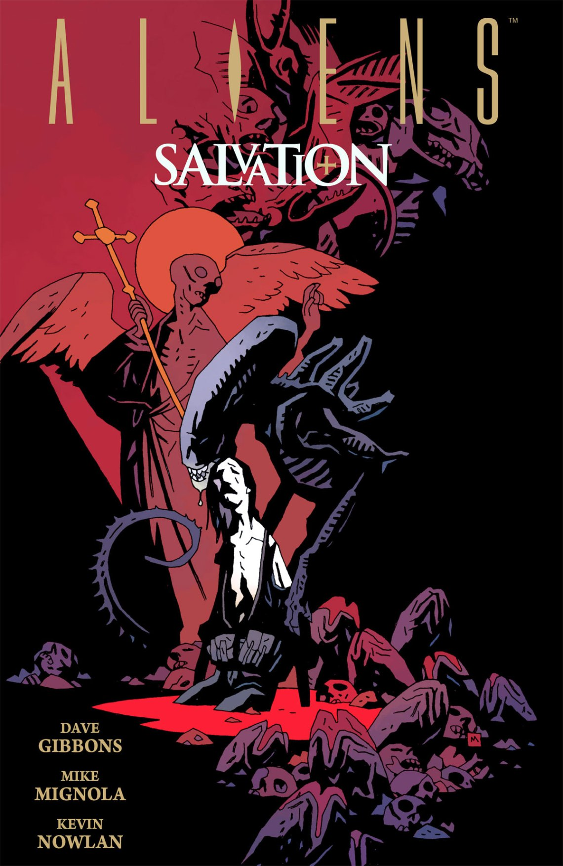 Aliens: Salvation Cover