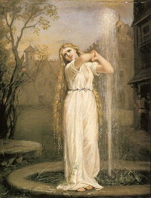 Ondine, by John William Waterhouse (1872)