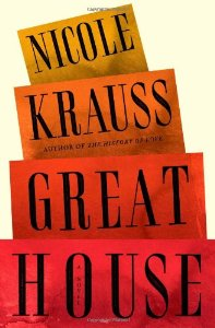 "Cover of ""Great House: A Novel"""