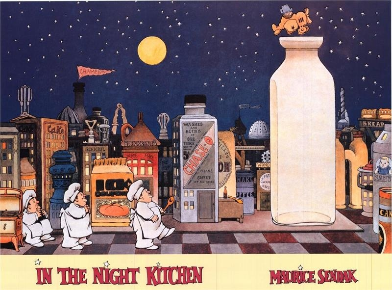 Book Finds: In The Night Kitchen