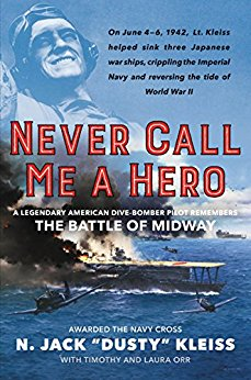 Never Call Me a Hero Book Cover