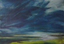 memento landscape painting clouds buying canadian art janet bright