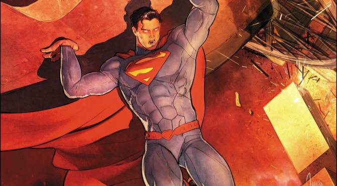(C506) Superman usa los calzones rojos nuevamente en Action Comics #1000