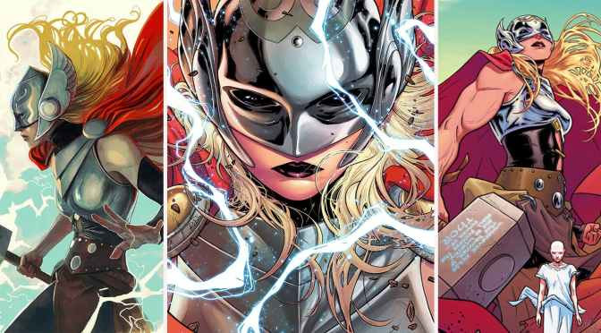 "(C506) Se presenta una variante para ""The Death of the Mighty Thor"" que es simplemente impresionante"