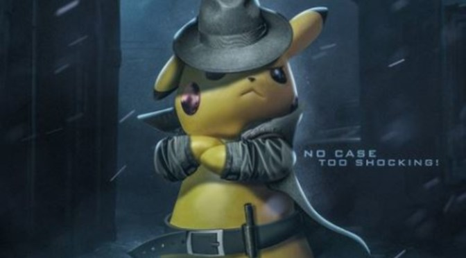 (C506) Un Pikachu con una actitud no tan adorable, Detective Pikachu para occidente