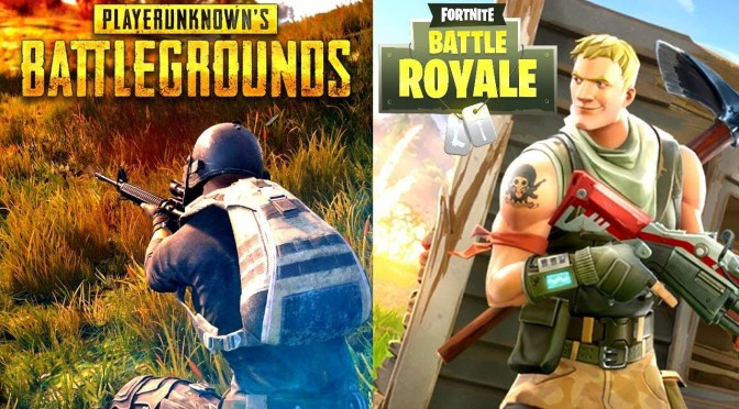 (C506) Fortnite superó a PUBG en usuarios recurrentes