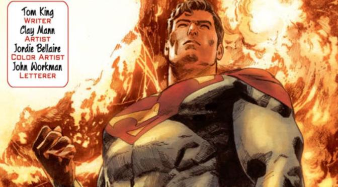 "DC presenta una nueva historia de Superman ""Of Tomorrow"""