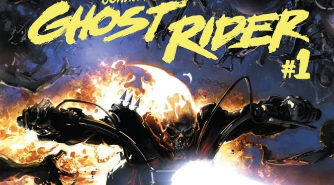 Vista Previa: Johnny Blaze Ghost Rider # 1